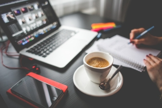 BusinessOffice Morning Coffee