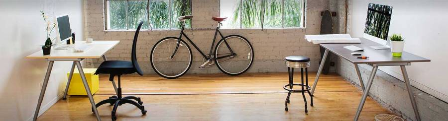 office - bike, bicileta, computador, computer