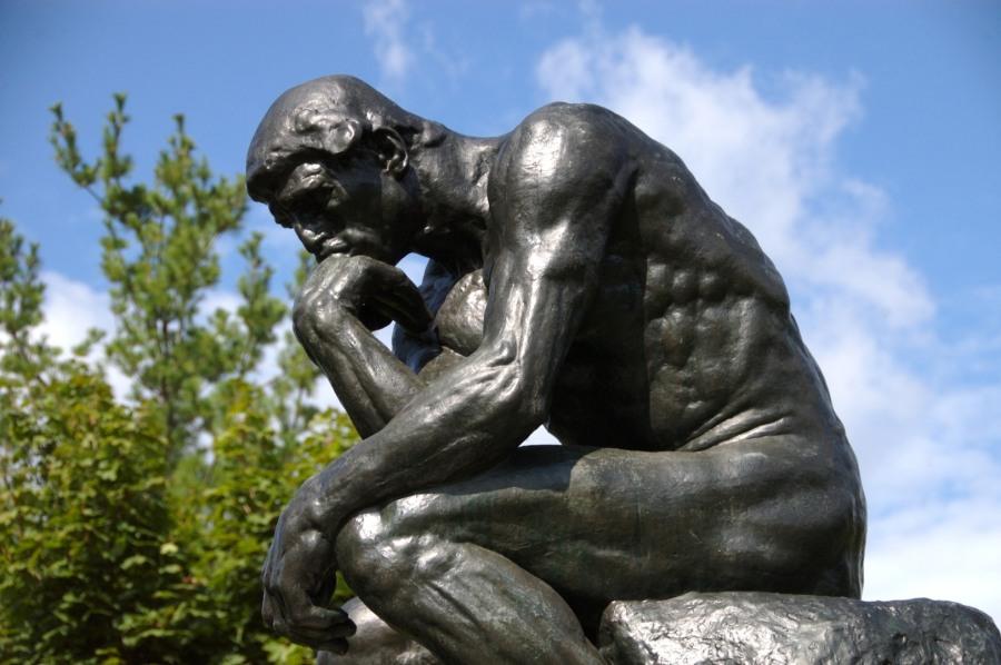 o pensador, rodin
