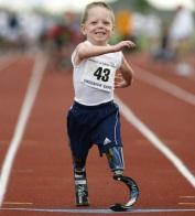 superação, atleta, criança, próteses